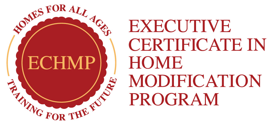 executive certificate in home modification program
